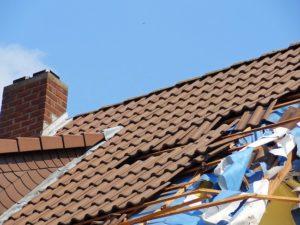 Versicherungsfall Dach